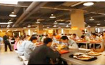 上海华硕电子厂吃饭就餐