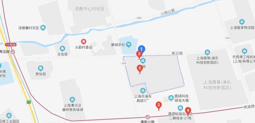 上海昌硕电子厂地址